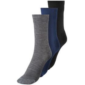 Devold Daily Medium Socks 3er Pack Herren indigo mix